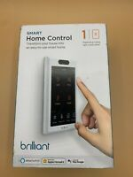 Brilliant Smart Home Control 1 Switch Panel In Wall Touchscreen $299.99