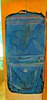 SAMSONITE Blue Hanging Garment Carry On Bag Can carry 2 suits or more Lock Inc