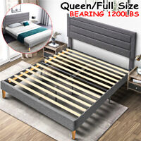 Adjustable Queen Twin Size Platform Bed Frame With Headboard amp;Footboard Frames