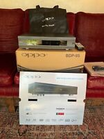 OPPO BDP 95 Universal Blu Ray DVD player Mint condition original owner $750.00