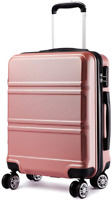 Kono Carry on Luggage Hard Shell Suitcase with 8 Spinner Wheels 22x14x9 Rolling