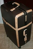 New Brown Samsonite Black Label Hard Side Real Trunk Suitcase Spinner 33quot; Tall