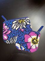 Vera Bradley AFRICAN VIOLET Cosmetic Change Coin Wallet Pouch Bag Purse Lot