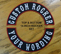 ROCKERS CUSTOM EMBROIDERED PATCH 14