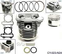 50cc Cylinder & Head 39mm Piston Gasket Kit For ATV Gokart Moped Scooter GY6 E3