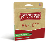 NEW SCIENTIFIC ANGLERS MASTERY DOUBLE TAPER FLY LINE DT4F fly fishing dry flies