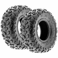 Pair of 2, 145/70-6 145/70x6 Quad ATV All Terrain AT 6 Ply Tires A014 by SunF