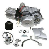 125CC Engine Motor semi auto 3 SPEED +REVERSE ATV QUAD GO Kart 4 WHEELER