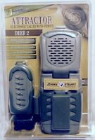 Johnny Stewart DEER 2 Attractor Handheld Electronic Caller ~ Remote+ ~ Lanyard