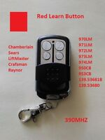LiftMaster Craftsman Garage Door Opener Mini Remote Part For Red Learn Button $9.95