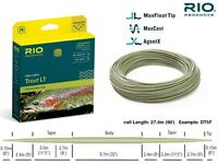 NEW RIO TROUT LT(LIGHT TOUCH)  DT4F SAGE fly fishing fly line fine front taper