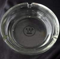 Vintage WESTINGHOUSE Advertising Glass Ashtray