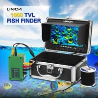 NEW 7In Monitor 360 Degree Underwater Camera Fish Finder Color 20M Cable D7Z2