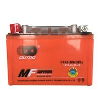 YTX9-BS Sealed Maintenance Free Battery 12V 9Ah Motorcycle Scooter ATV