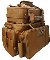 Khaki Fishing BackPack With Multi Storage Pocket Fly Fishing Outdoor Tackle Bag