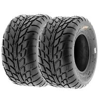 Set of 2, 20x10-10 20x10x10 Quad ATV All Terrain AT 6 Ply Tires A021 by SunF