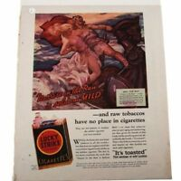 Lot of 6 Lucky Strike Vintage Ads #18548