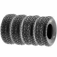 Set of 4, 25x8-12 & 25x10-12 Replacement ATV UTV 6 Ply Tires A021 by SunF