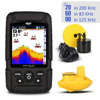 Portable LCD Fish Finder 100M Depth Wireless Sonar Sensor Sounder Fishfinder