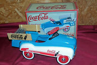 Old Coca-Cola Diecast 1:3 Scale Limited Edition Pedal Car Truck Coke Toy Vintage
