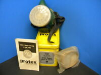 Vintage Protex Respirator in Metal Tin Box Welsh Mfg.  [collectible use only]