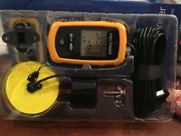 Venterior VT-FF001 Portable Fish Finder Wired Sonar Sensor LCD Screen
