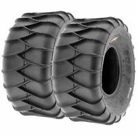 Pair of 2, 22x10-9 22x10x9 Quad ATV Snow Mud Sand 6 Ply Tires A036 by SunF