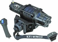 KFI Products Assault Series Winch AS-50 5000 LB W/ Synthetic Cable Rope ATV UTV