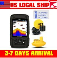 Up to 100M Color Fish Finder Wireless & Transducer for Night turbid ICE Fishing