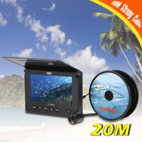 20M Professional Fish Finder Underwater Ice Fishing Camera 4.3