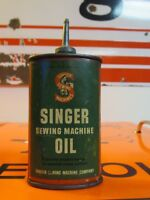 Vintage Lead Top Singer Sewing Machine Oil Can Handy Oiler *Sewing Lady*
