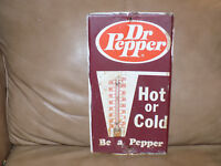 Dr. Pepper Metal Thermometer