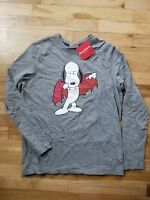 c5a130b05e NWT HANNA ANDERSSON SNOOPY PEANUTS VAMPIRE L S HALLOWEEN TEE T SHIRT 160 14   36