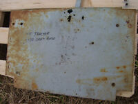VINTAGE  MASSEY FERGUSON  1100 D  TRACTOR -SEAT FRAME PLATE - AS - IS