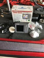 Lowrance LMS-332C GPS Depth Finder / Fish Finder With LGC 2000 GPS Receiver