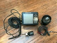 Fish Finder Eagle Ultra Classic, wires, transducer- Depth Finder, compass