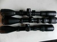 Lot #3 of Three Used Rifle Scopes tasco bsa bushnell