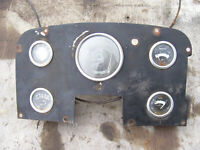 VINTAGE  MASSEY FERGUSON  1100 D  TRACTOR -DASH PANEL ASSEMBLY