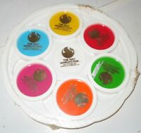 1982 WORLD#x27;S FAIR Koxville Tennessee Plastic Drink Coaster Carry Set NEW Sealed