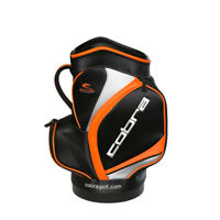 Cobra Golf 2019 Den Caddy Miniature Staff Bag with 2 Zippered Pockets in Black
