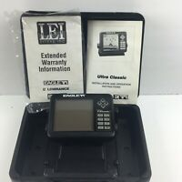 Eagle Ultra Classic Fish Finder With Case And Manual  No Wires Or Mount.