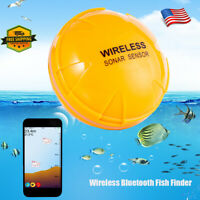 XF-06 Portable Wireless BT Fish Detection Smart Sonar Fish Finder Devices