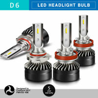 9005+H11 LED Headlights Conversion Bulbs High&Low Beam 6000K Clear 120W 24000LM