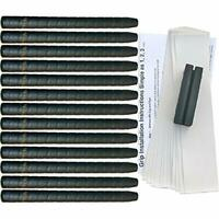 Tacki-Mac Unified Wrap Non-Tapered Oversize Golf Grip Kit (13 Grips, Tape,