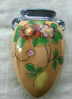 Lustreware Lusterware Flower Wall Pocket Made in Japan 5 inches