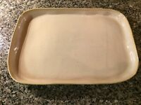 Vietri Italy Forma Sand 14 in Rectangular Serving Platter(35dc-120)-NWT
