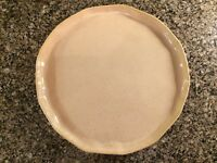Vietri Italy Forma Sand 12 in Small Round Serving Platter(17dc-69)-NWT