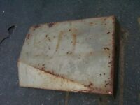 VINTAGE  MASSEY FERGUSON 1100 D  TRACTOR -TRIM PANEL / COVER