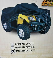 Moose Utility Ozark ATV Covers XXL - Black 4002-0051