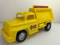 Vintage Yellow Buddy L Coca Cola Delivery Truck Plastic & Metal Toy Vehicle
